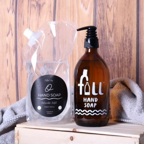 hand soap and refill
